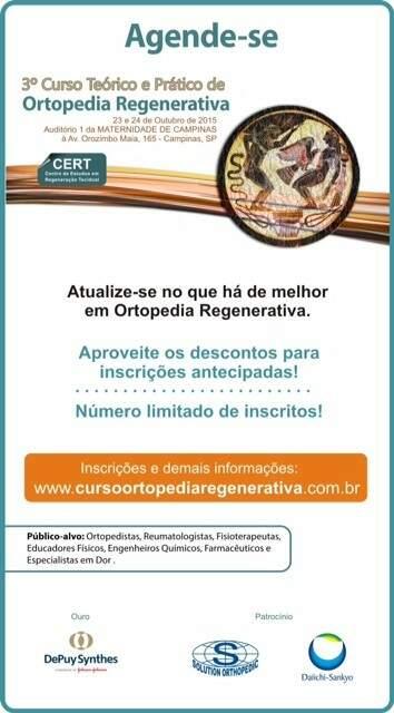 Convite Curso de Ortopedia RegenerativA