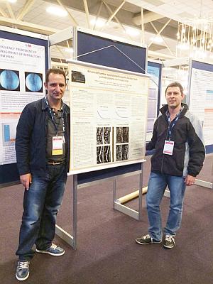 Dr Charles e Fabricio apresentam poster em VII Congresso Mundial da Dor