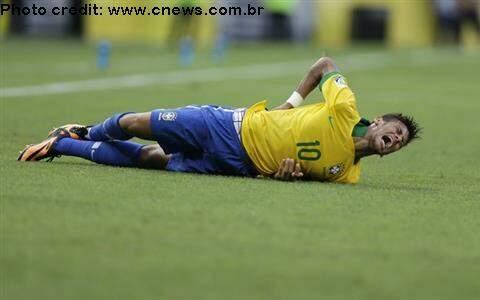A fratura de Neymar